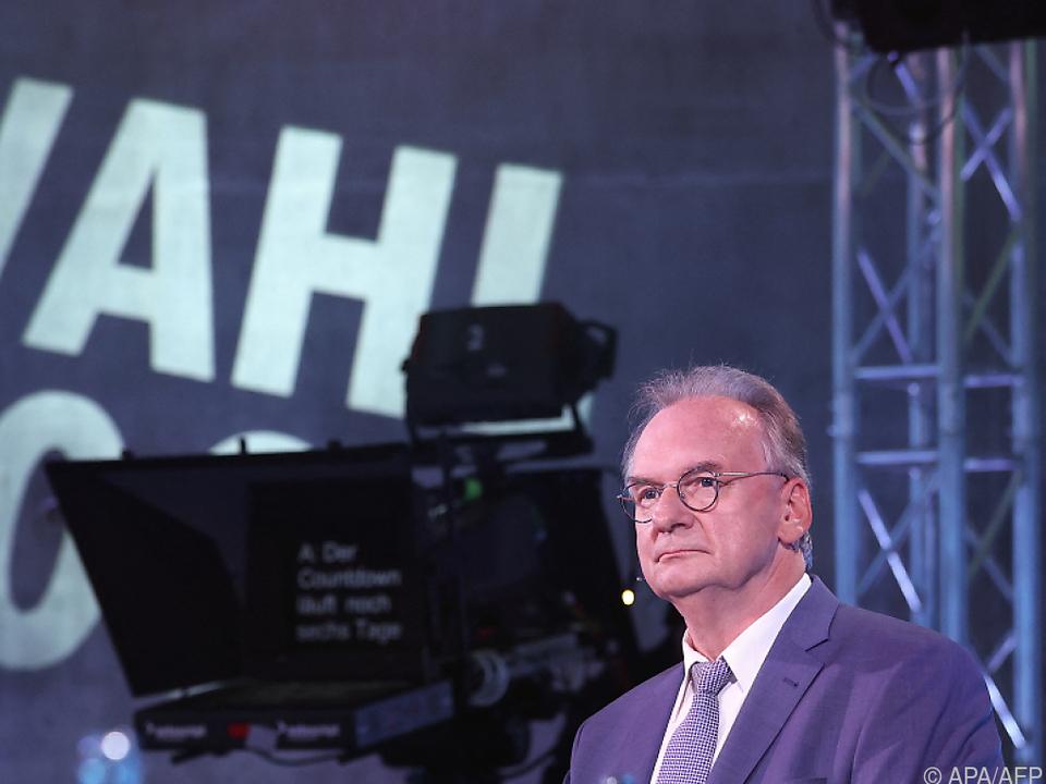 Haseloff will Ministerpräsident bleiben