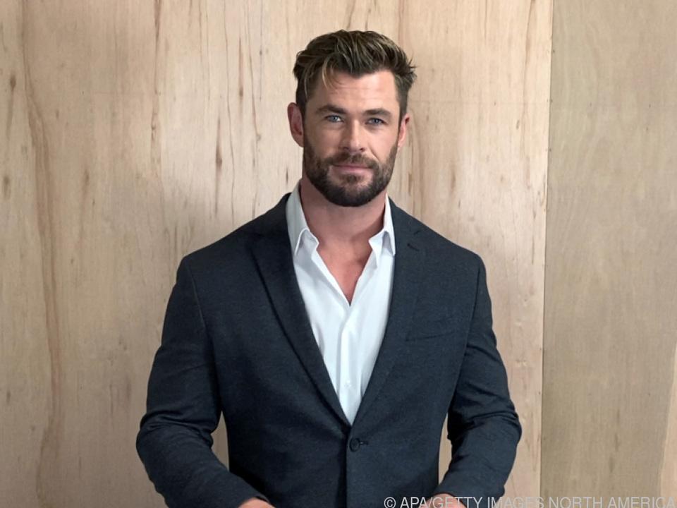 Hemsworth schlüpfte wieder in seine Paraderolle