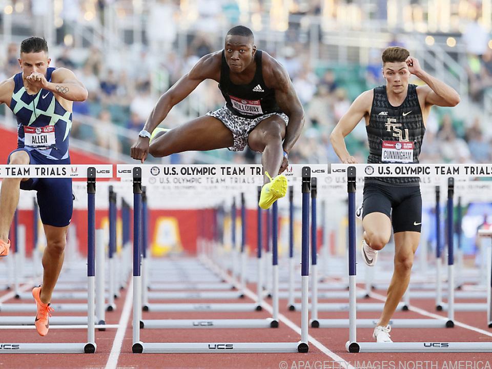 Holloway verpasste den Weltrekord nur knapp