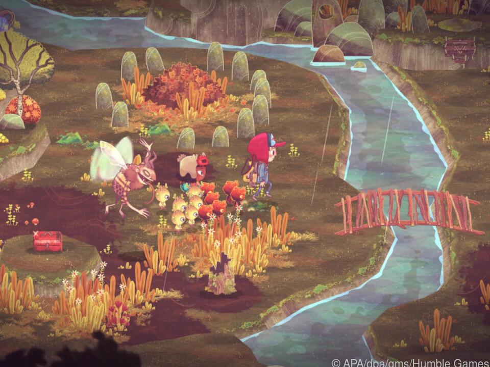 Das Game hat eine verspielt gezeichnete Welt voller kleiner Details