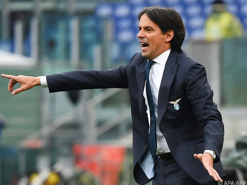 Inzaghi wechselt als Trainer von Lazio Rom zu Inter Mailand
