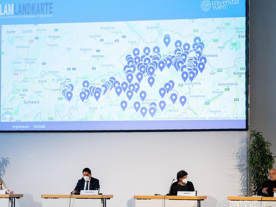 Islam-Landkarte bleibt Aufreger