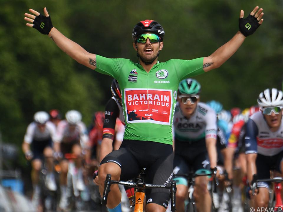 Italiener Colbrelli gewann 3. Etappe der Dauphine