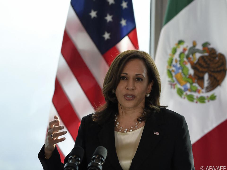 Kamala Harris soll illegale Migration an US-Südgrenze in den Griff kriegen
