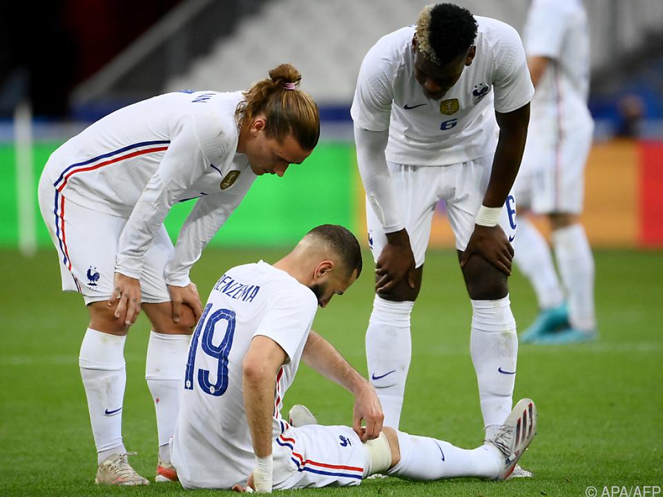 Karim Benzema machen Verletzungsprobleme zu schaffen