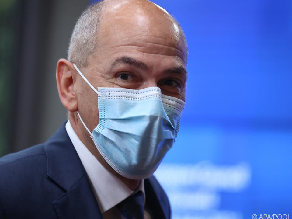 Keine ungetrübte Feierstimmung für Sloweniens Premier