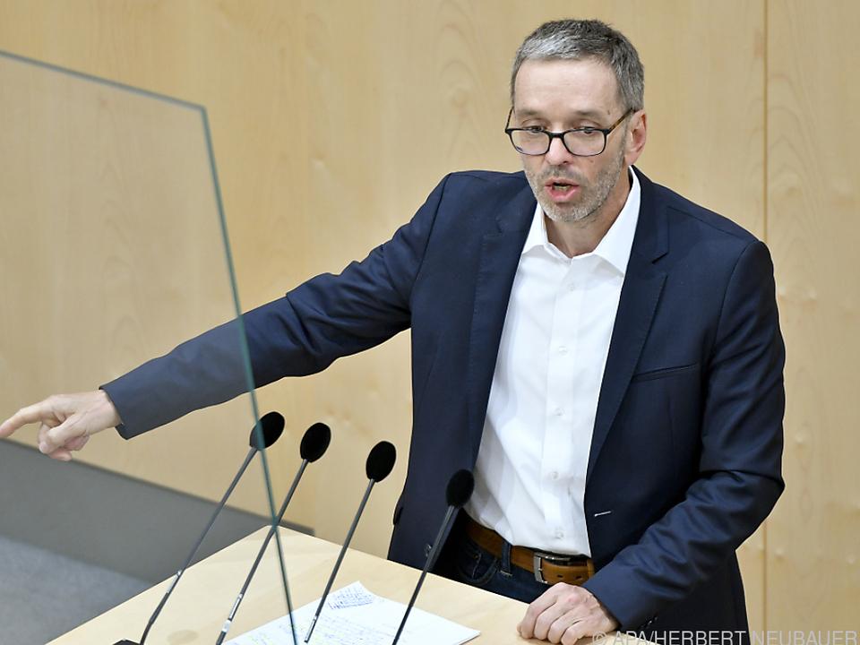 Klubobmann Herbert Kickl stünde als FPÖ-Chef bereit