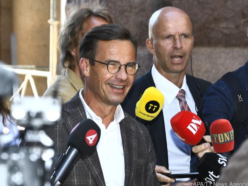 Konservativen-Chef Kristersson erhielt Regierungsauftrag