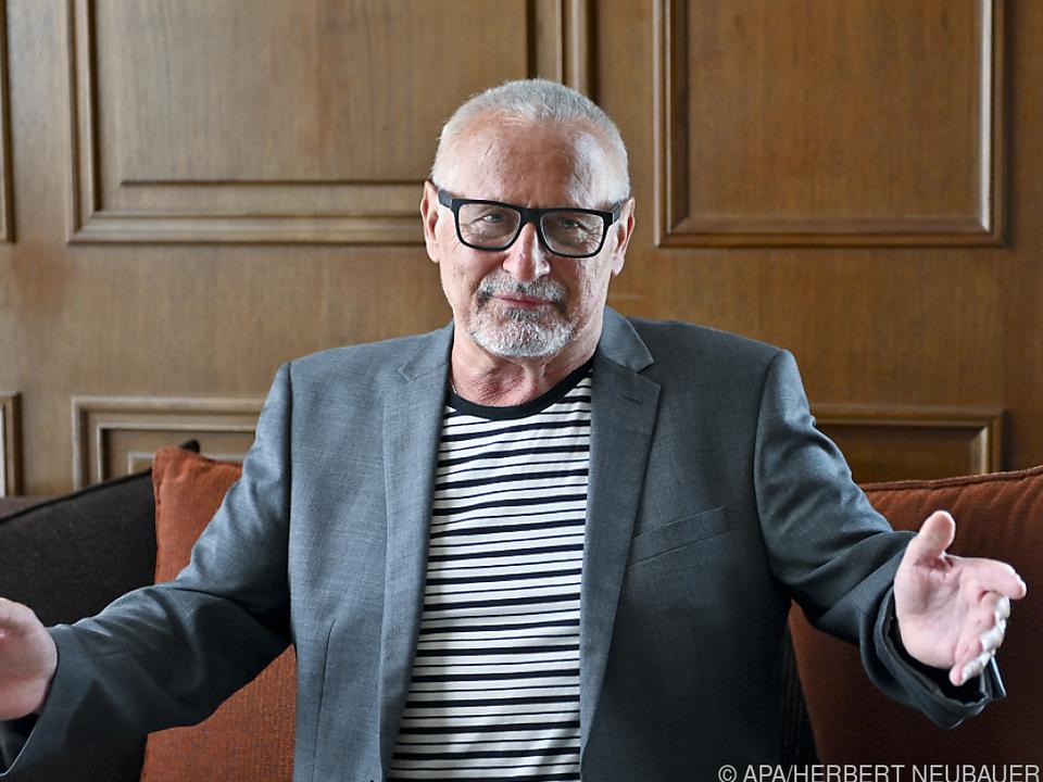 Konstantin Wecker singt über das Älterwerden
