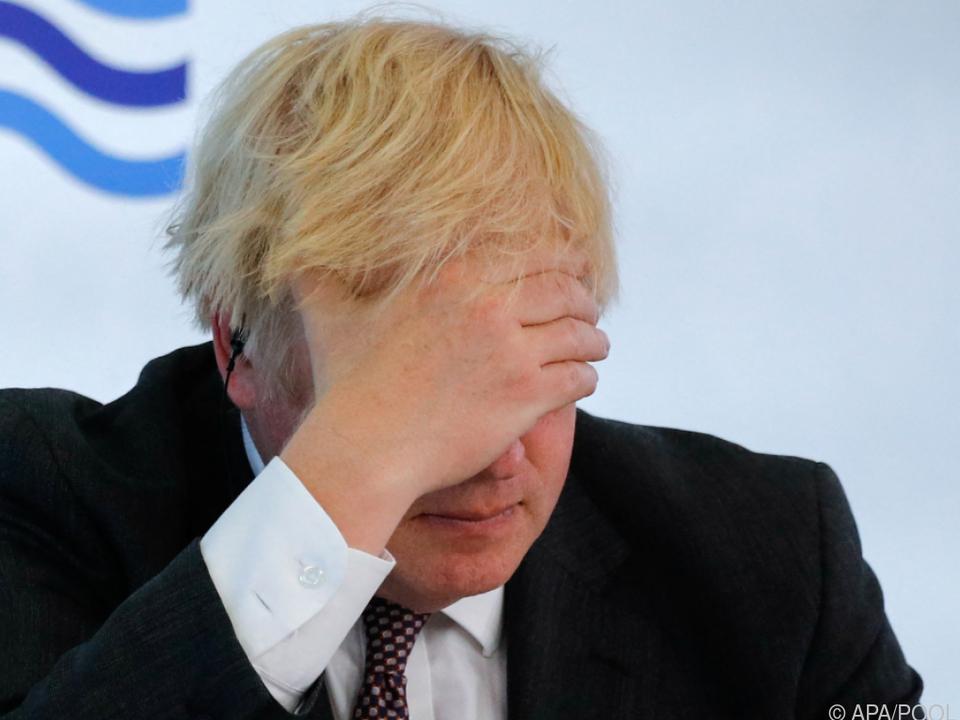 Kopfzerbrechen wegen Delta-Variante - Großbritanniens Premier Johnson