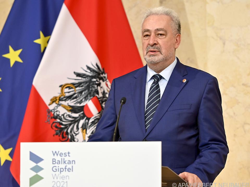 Krivokapic bei der Westbalkan-Konferenz in Wien
