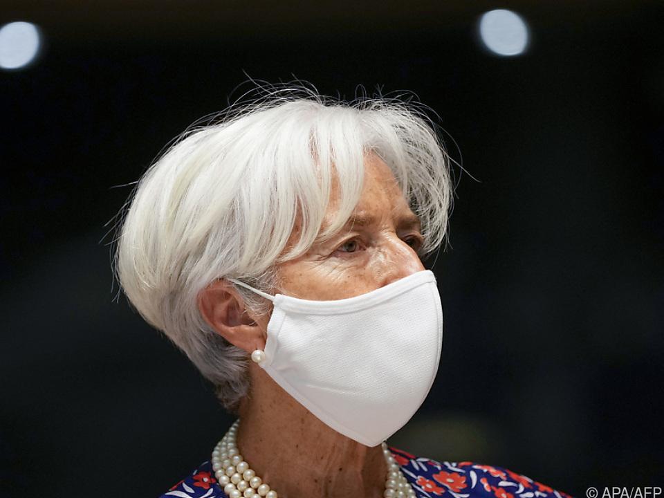 Lagarde konnte gute Gespräche führen