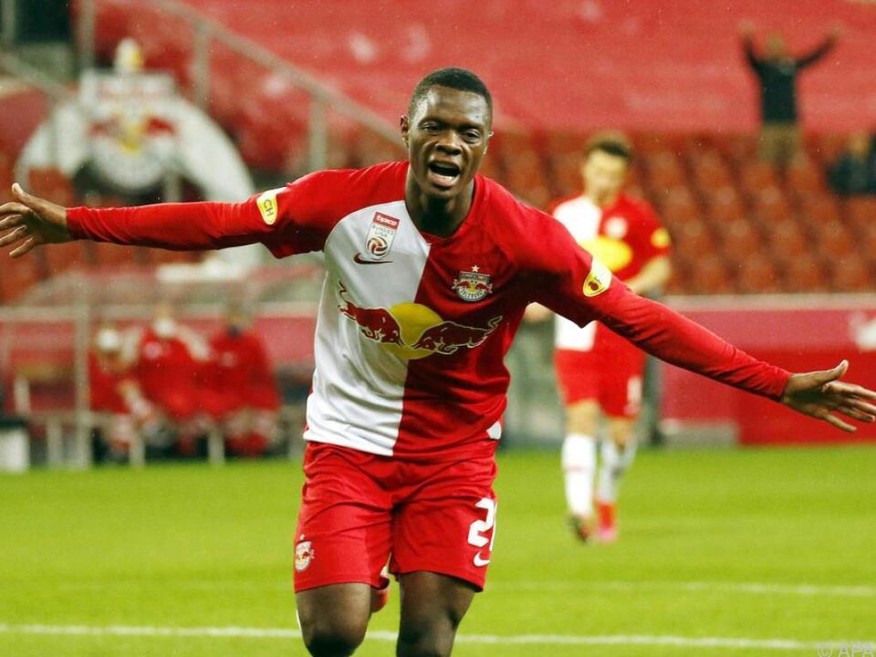 Leicester sicherte sich die Dienste von Salzburg-Goalgetter Daka