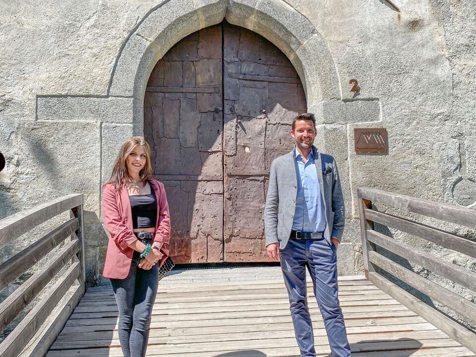 Lia Vontavon und Dominik Oberstaller