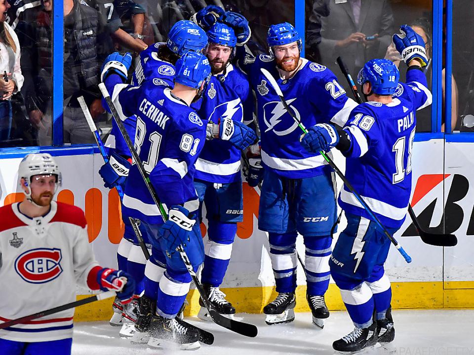Lightning gelang der Start in die Finals