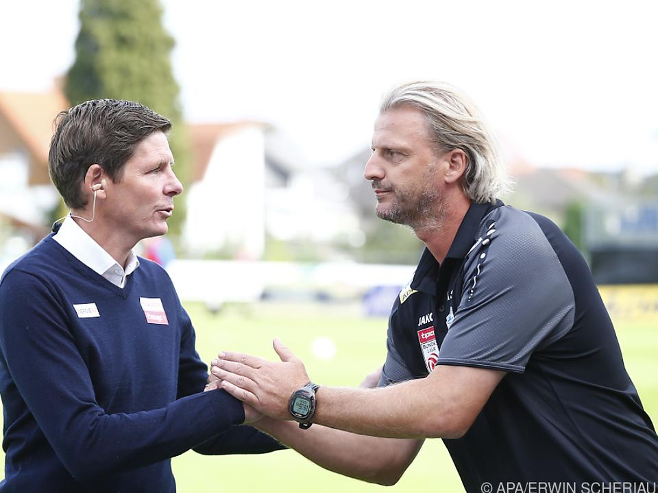 Markus Schopp (re.) wird Österreichs nächster Trainer-Export