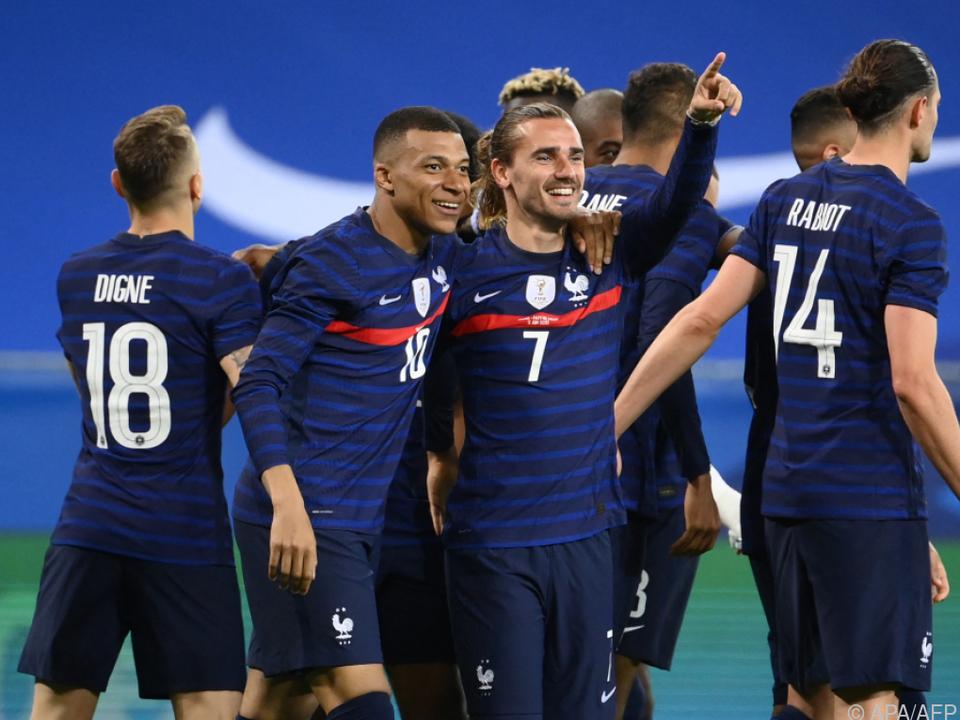 Mbappe und Griezmann wollen mit Frankreich auch bei der EM jubeln