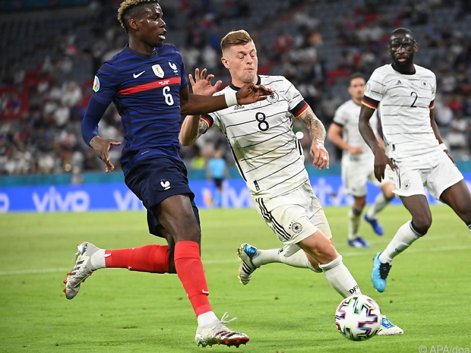 Meist einen Schritt voraus: Frankreichs Paul Pogba