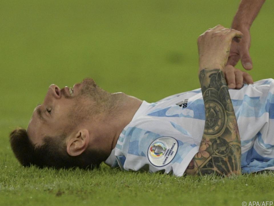 Messi hätte sich zum Copa-Auftakt mehr Ruhe in Mannschaft gewünscht