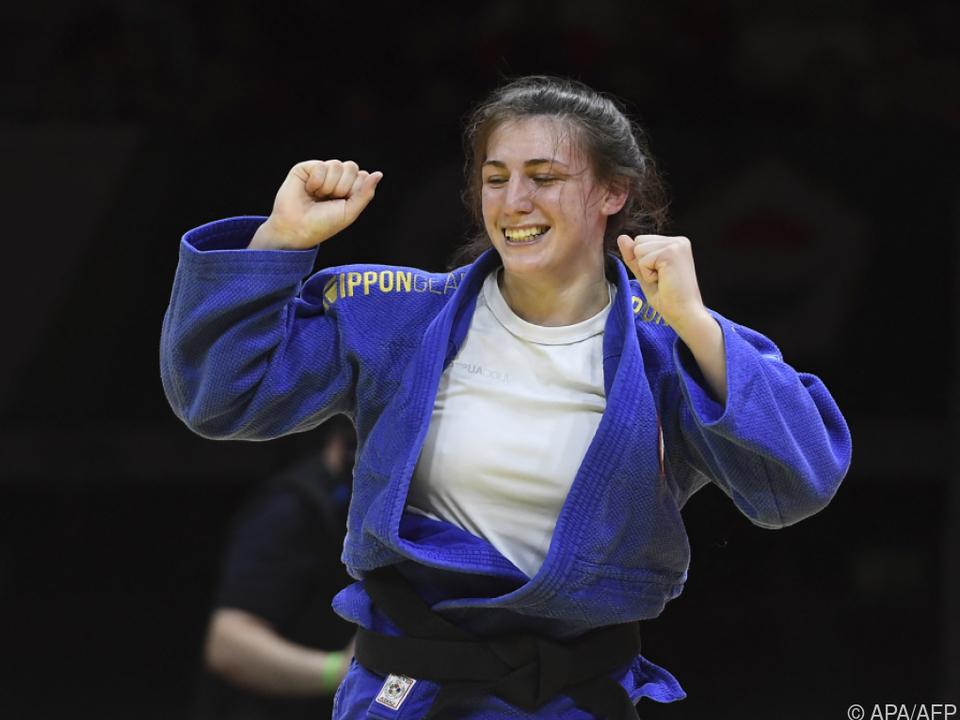 Michaela Polleres sorgte für Österreichs erste WM-Medaille seit 2010.