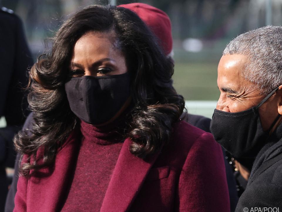 Michelle und Barack Obama sind vielfältig engagiert