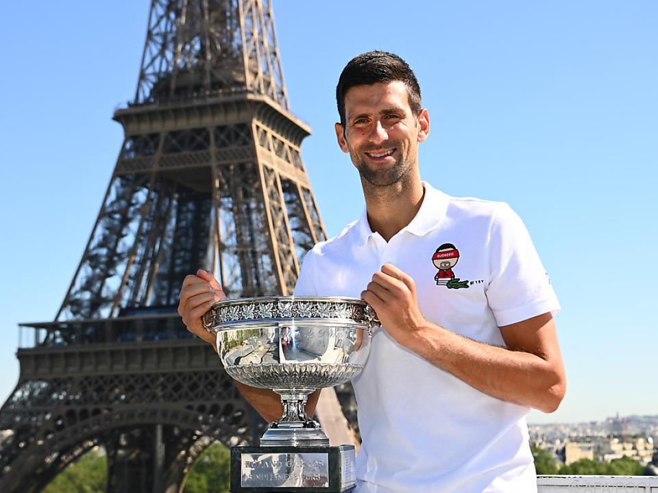 Mit dem French-Open-Titelgewinn wahrte Novak Djokovic auch die Chance auf den Grand Slam