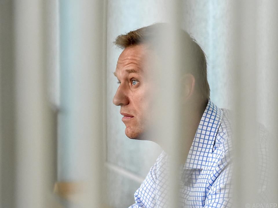 Nawalny und seine Organsationen von Wahlen ausgeschlossen