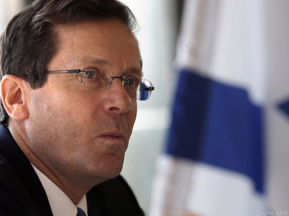 Neuer israelischer Präsident ist Yitzhak Herzog (Archivbild)