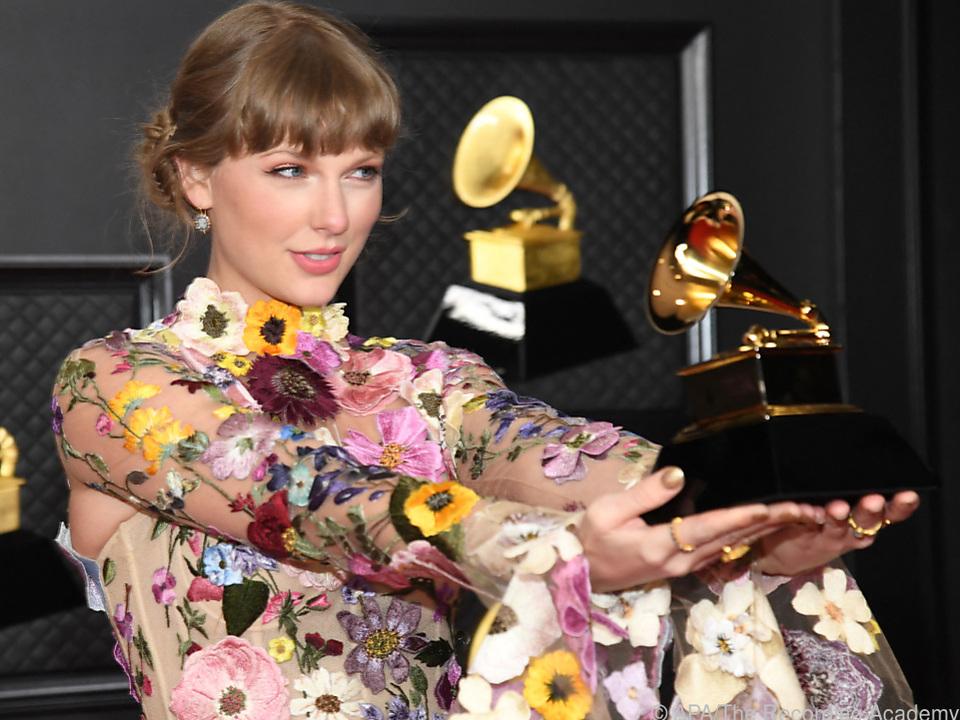 Nimmermüder US-Popstar Taylor Swift