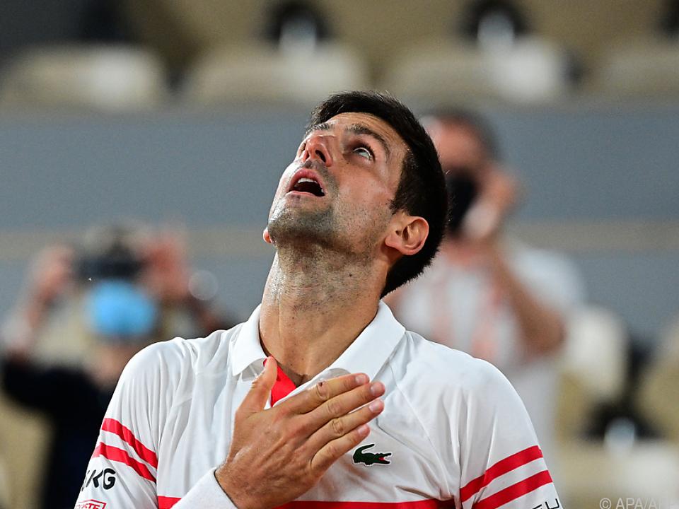Novak Djokovic erreichte nach hochklassigem Duell mit Rafael Nadal das French-Open-Finale