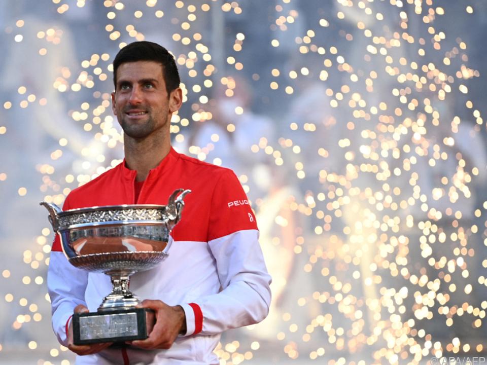Novak Djokovic triumphierte wie 2016 bei den French Open.