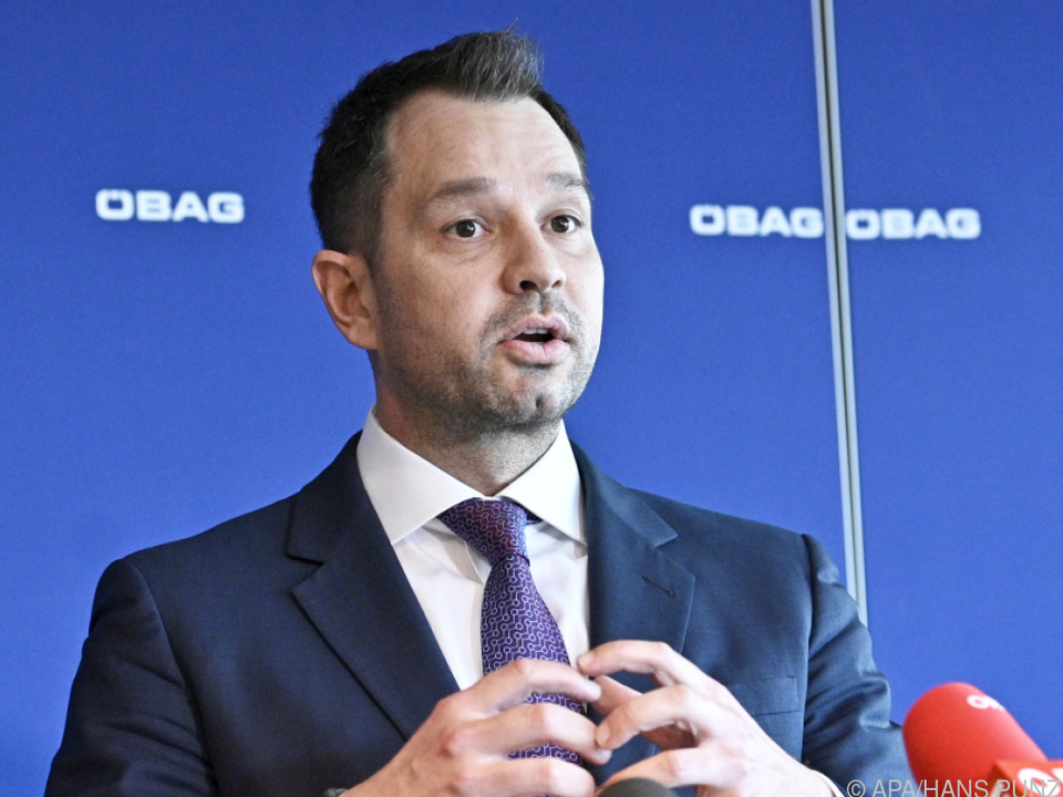ÖBAG-Vorstand Thomas Schmid
