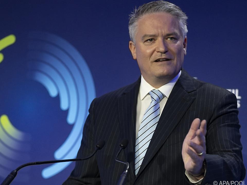 OECD-Generalsekretär Mathias Cormann