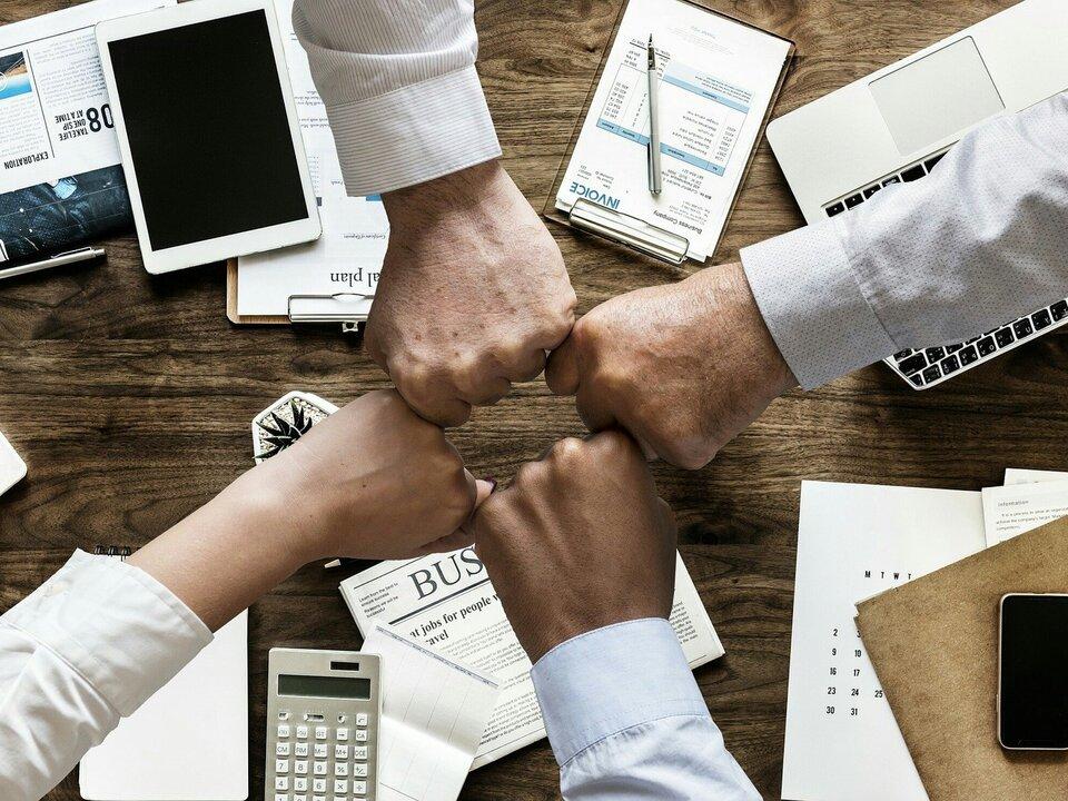 Arbeit Zusammenarbeit