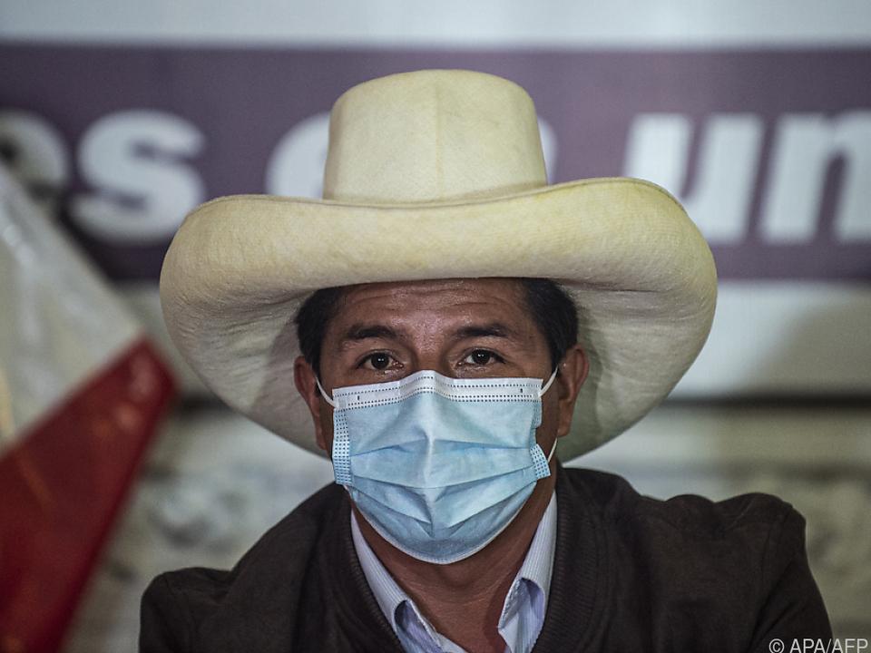 Pedro Castillo stammt aus einer bäuerlichen Familie