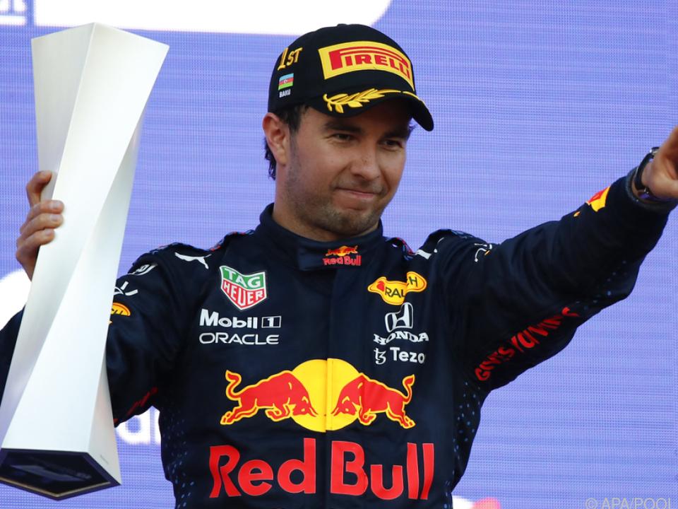 Perez siegte nach Drama um Verstappen und Hamilton