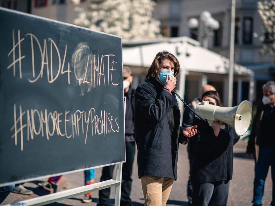 Zeno Oberkofler, Aktivist Fridays For Future Southtyrol
