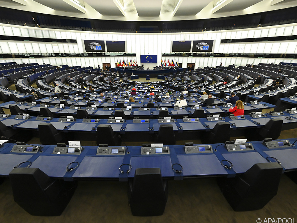 Plenum des Europaparlaments in Straßburg
