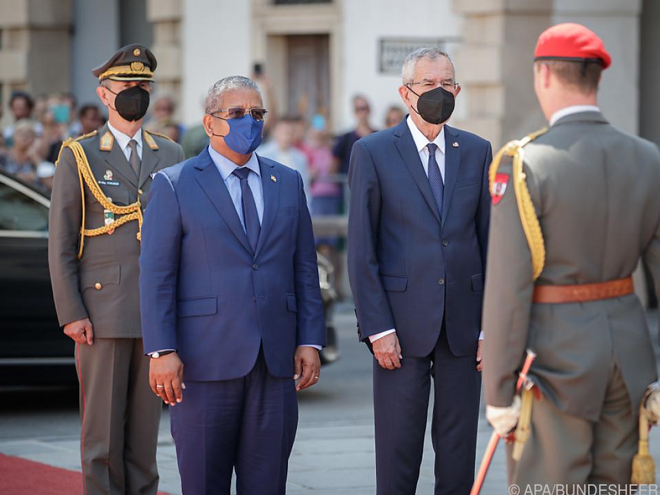 Präsident der Seychellen auf Staatsbesuch in Wien
