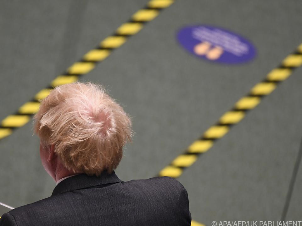 Premier Johnson fehlt bei Maßnahmen volle Rückendeckung seiner Partei