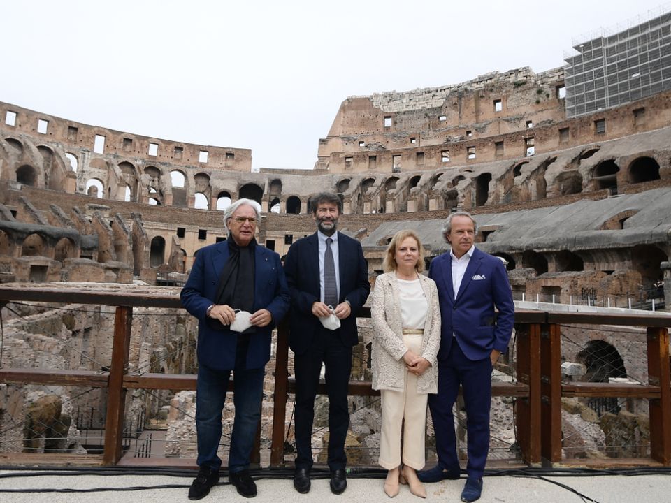 Privates Sponsoring ermöglichte Renovierung des Kolosseums