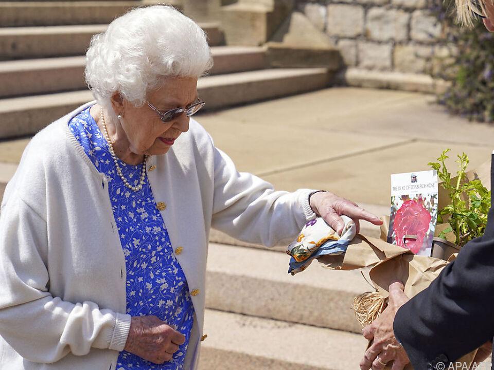 Queen ehrte ihren verstorbenen Mann