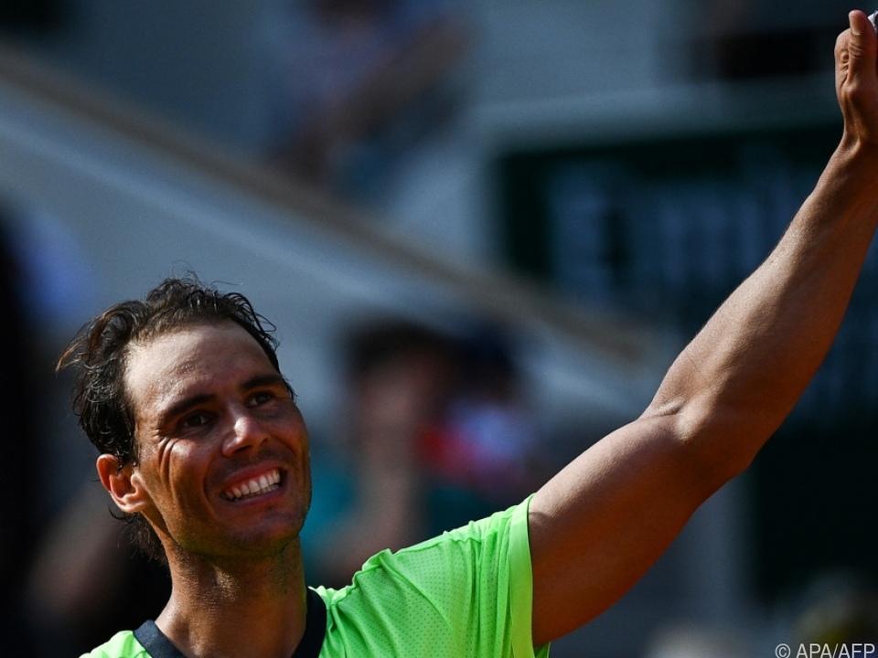 Rafael Nadal steht wieder einmal im Halbfinale der French Open.
