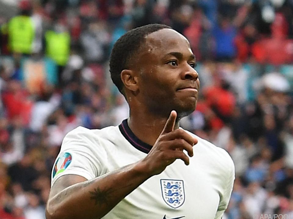 Raheem Sterling leitete den englischen Sieg ein
