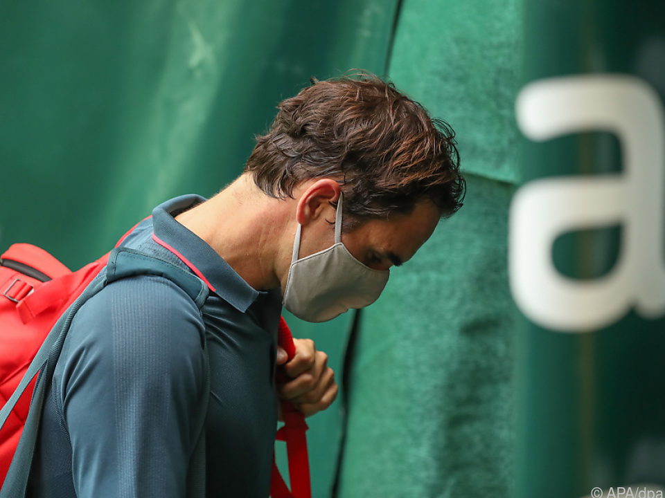 Rekordsieger Roger Federer verpasste in Halle (Westfalen) erstmals das Viertelfinale