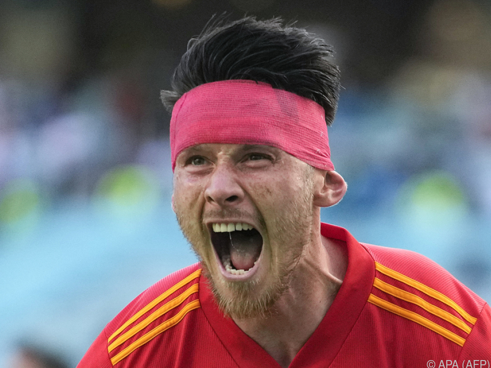 Rettete Wales einen glücklichen Punkt gegen die Schweiz: Kieffer Moore