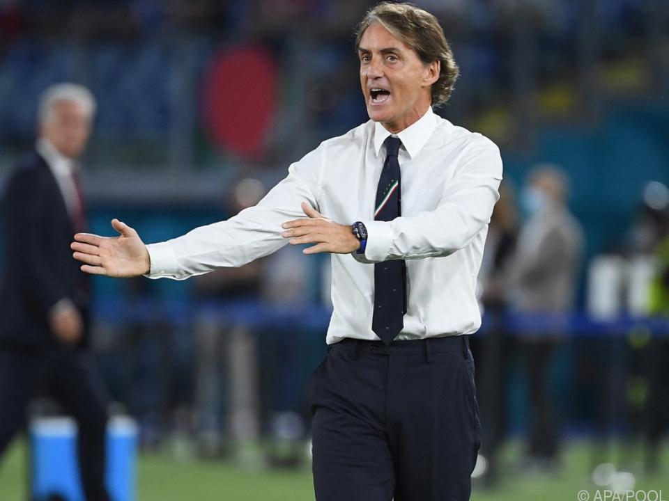 Roberto Mancini ist weiter auf Erfolgskurs unterwegs