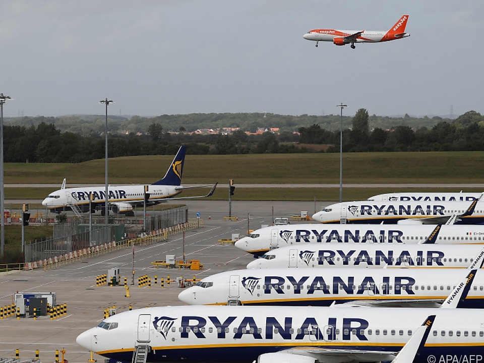 Ryanair bringt gerade viele Flugzeuge wieder in die Luft