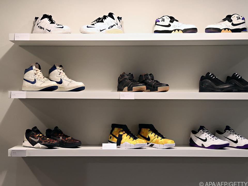 Schuhe bei Nike nach Corona wieder im Fokus
