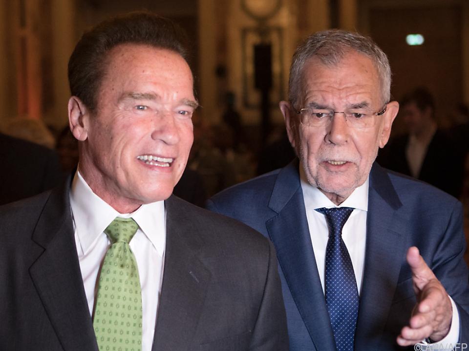 Schwarzenegger und Van der Bellen duzen sich